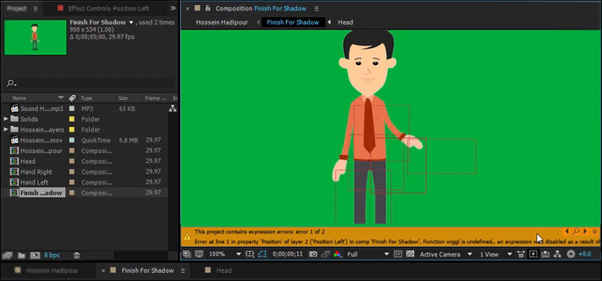 آموزش کد نویسی Expression در افتر افکت CC 2015
