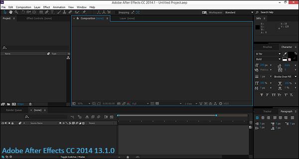 دانلود نرم افزار After Effects CC 2014 13.1.0