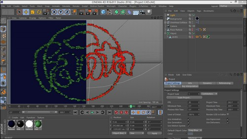 Animate Logo in Cinema 4d And After Effects