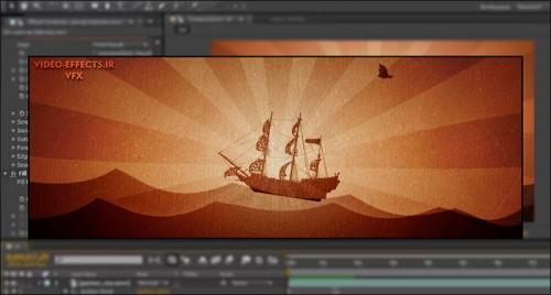 آموزش ساخت انیمیشن دو بعدی در افتر افکت