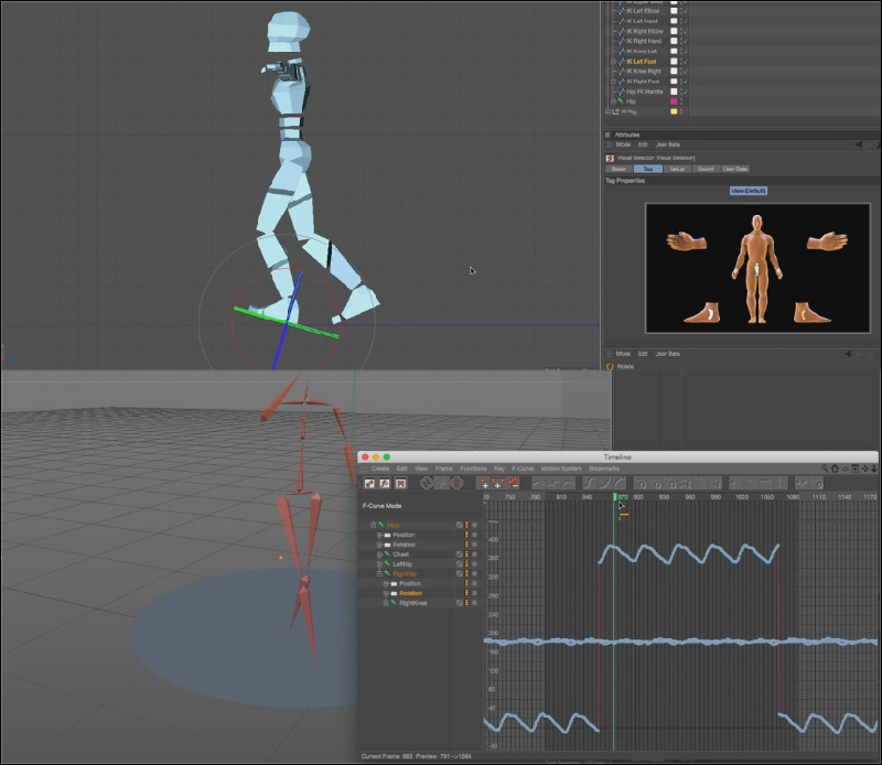 Animation Workflow In Cinema 4d R17