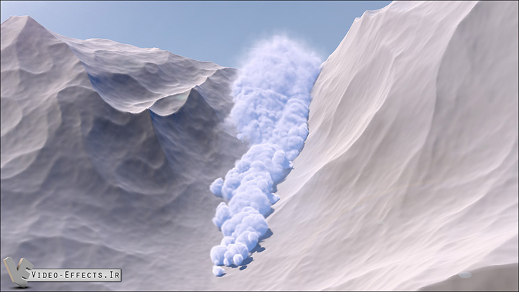 Create Avalanche in Cinema 4d