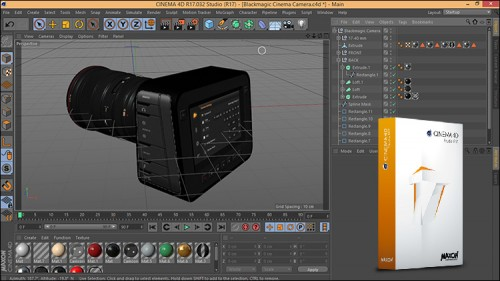 Tutorial New Feature Cinema 4d R17