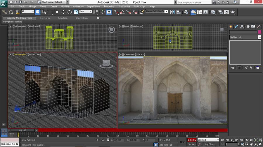 Tutorial Camera Raw in 3D Max