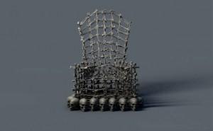 دانلود پروژه آماده صندلی سه بعدی