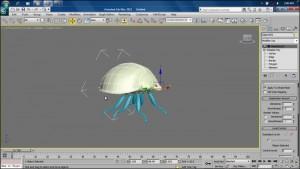 آموزش مدلسازی کفشدوزک در 3d Max