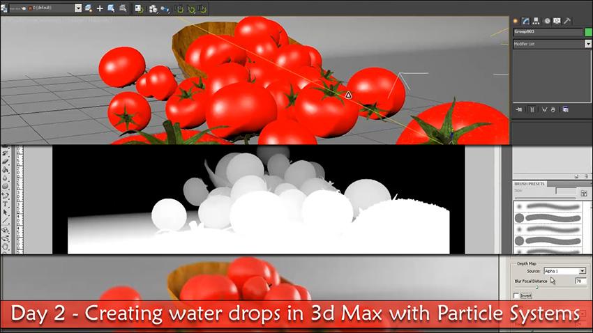 آموزش فارسی ساخت آب در 3d max