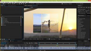 Delay In Layer Opacity In After Effects Expression