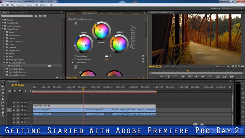 آموزش مقدماتی تا پیشرفته نرم افزار Premiere Pro