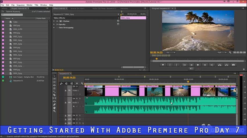 آموزش کامل نرم افزار Premiere Pro
