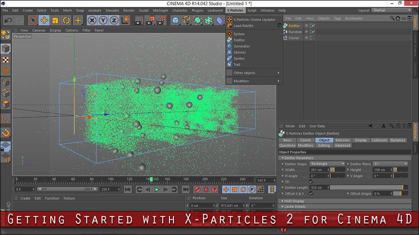دانلود پلاگین X-Particles 2 برای Cinema 4d