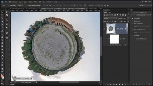 How to make 360 degree Panorama In Photoshop