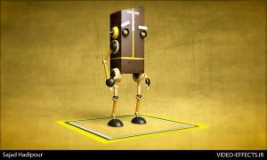 آموزش مدلسازی ربات در Cinema 4d