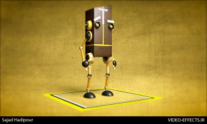 Modeling Robot In Cinema 4d