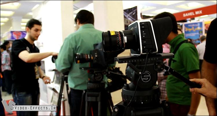 دوربین های فیلمبرداری در نمایشگاه