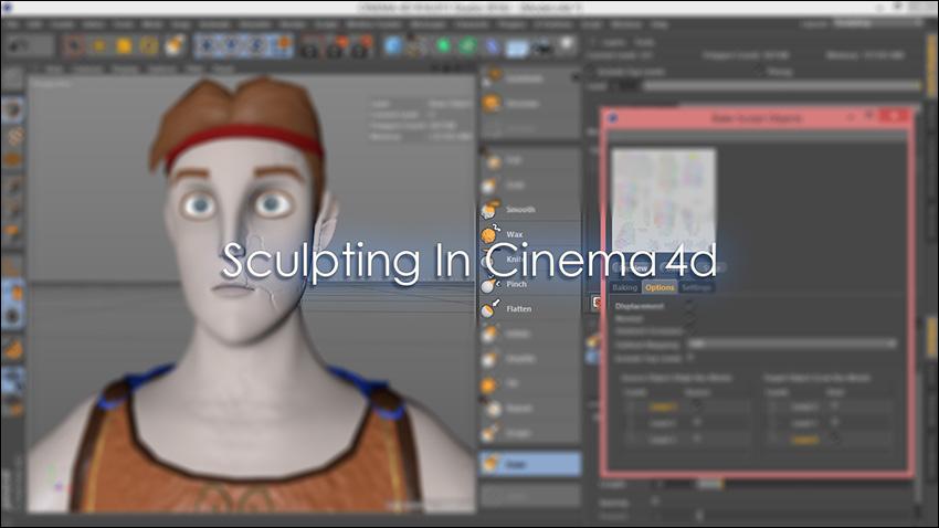 آموزش فارسی Sculpting در نرم افزار Cineam 4d