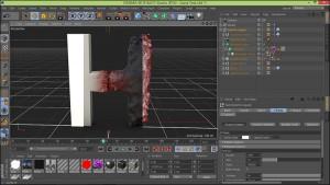 آموزش ساخت لوگو در نرم افزار Cineam 4d