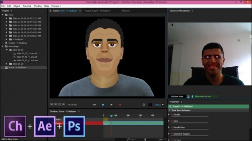 Tutorial Software Adobe Character Animator