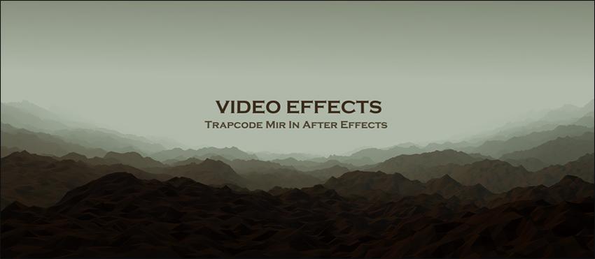 آموزش فارسی Trapcode Mir