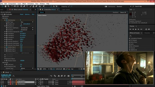Tutorial Create Blood In Adobe After Effects