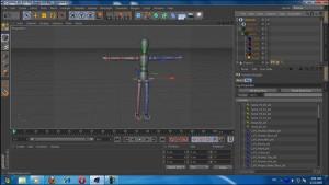 آموزش استخوان بندی کاراکتر سه بعدی در Cinema 4d