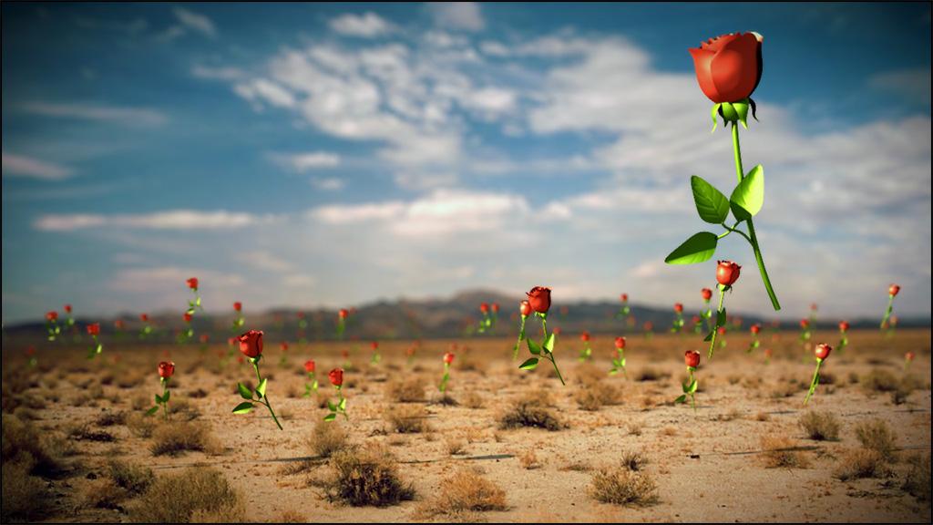 آموزش پرواز کردن گل ها در نرم افزار Cinema 4d و افتر افکت