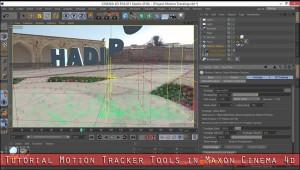 آموزش ابزار Motion Tracker در Cinema 4d r16