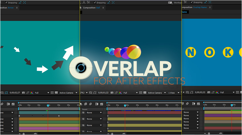 Tutorial Script OverLap In Adobe After Effects