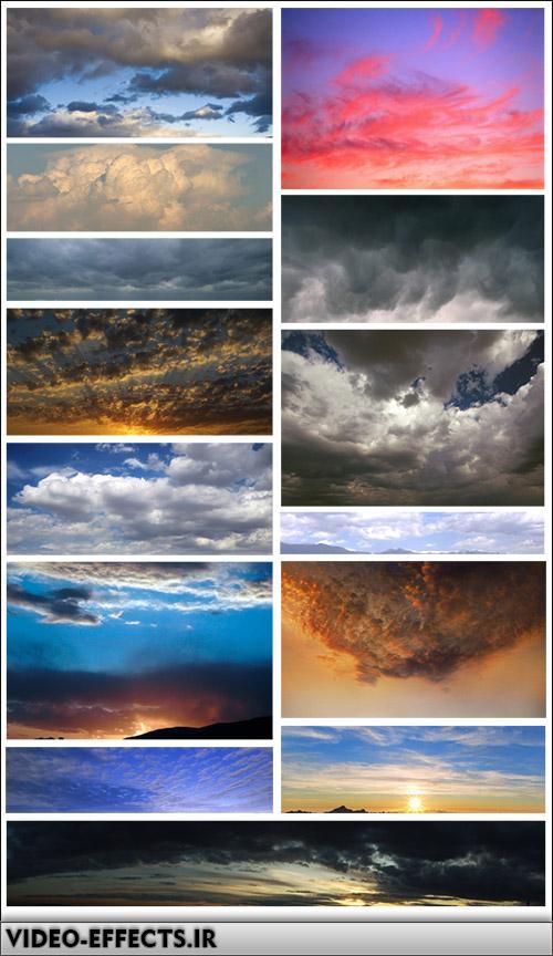دانلود مجموعه ای از ابر و اسمان برای فتوشاپ