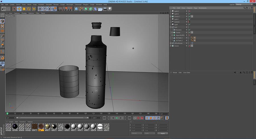 create model in cinema 4d