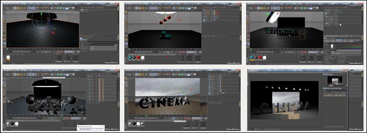آموزش کار با داینامیک ها در Cinema 4d