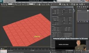 آموزش کار با پلاگین floor plugin 3d max