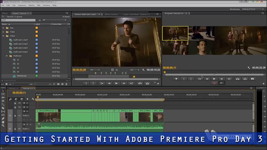 فصل چهارم: آموزش مقدماتی تا پیشرفته Premiere Pro