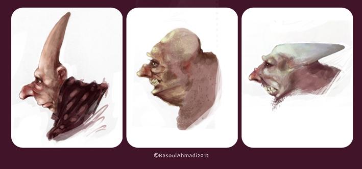 طراحی های رسول احمدی