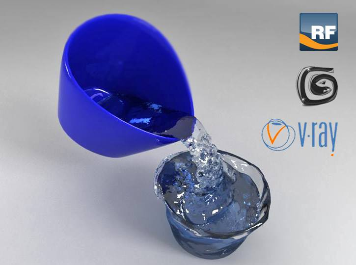 realflow in 3d max