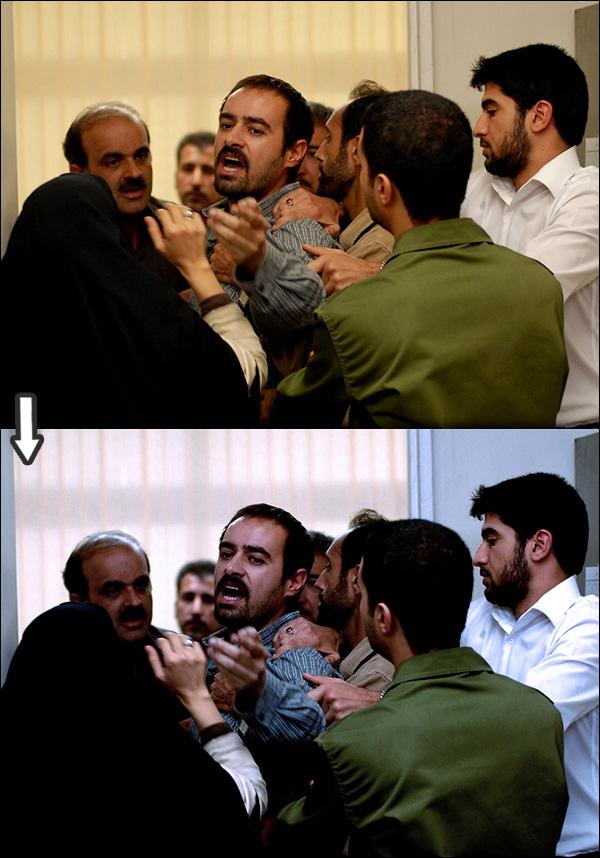 رنگ های سریال های ایرانی