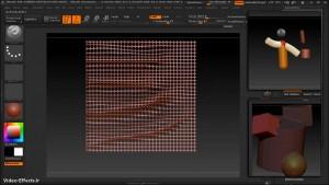 آموزش ابزار های نرم افزار Zbrush